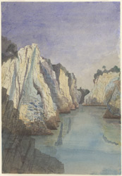 The Marble Rocks, Jubbulpore (C.P.).1 January 1869